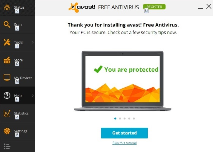 Avast Parental controls