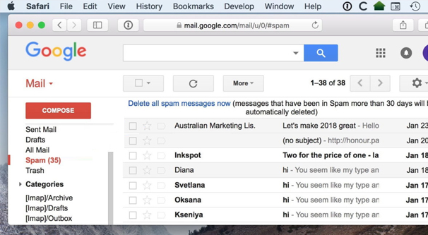 Google's Email Filters